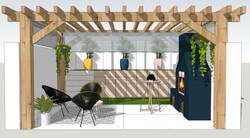 Render Design - Outdoor Area