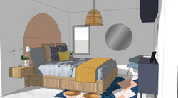 Render Design - Main Bedroom
