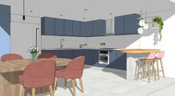 Render Design - Kitchen and Dining