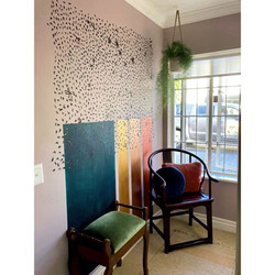 Interior Job Mural and Styling