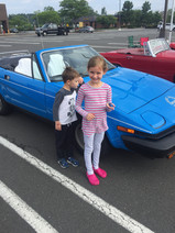 Future members of our little British Car Clubs.