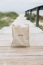 Life Etc. Tote Bag