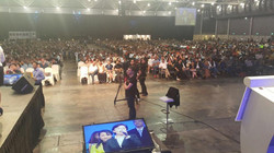 Speaking with 6000 audience