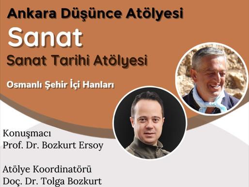 """Kazı Heyet Üyemiz Prof. Dr. Bozkurt ERSOY'un """"Osmanlı Şehir İçi Hanları"""" Konulu Konuşması"""