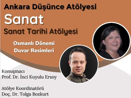 """Kazı Heyet Üyemiz Prof. Dr. İnci KUYULU ERSOY'un """"Osmanlı Dönemi Duvar Resimleri"""" Konulu Konuşması"""