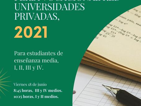 ¡Feria Vocacional Red Universidades Privadas en el Almenar!