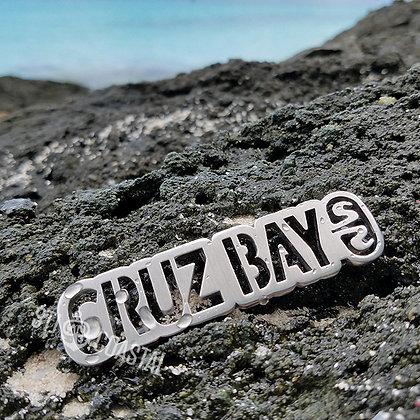Cruz Bay Plaque