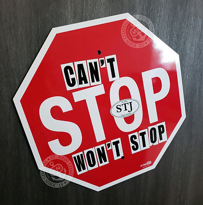 St John Signs: Can't Stop/Won't Stop