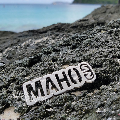 Maho Bay Plaque