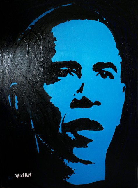 Barack Obama : Popping Portraits Collection 2009