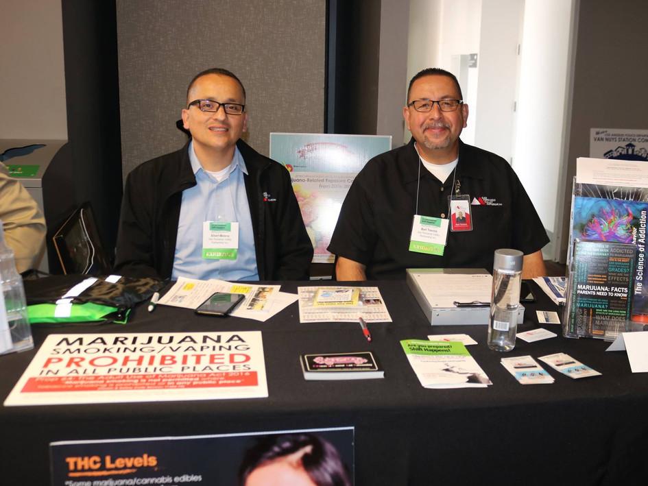 San Fernando Valley Partnership Inc.'s Exhibitor Booth at CSUN