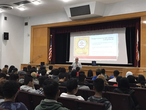 Red Ribbon Week 2018 at James Monroe High School