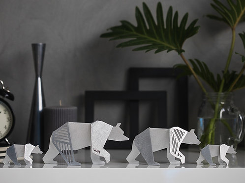 BEARS FAMILY- Contemporary Sculptures