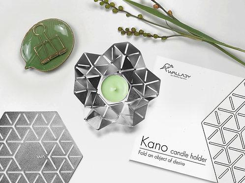 KANO - פמוט גאומטרי בהשראת אוריגמי
