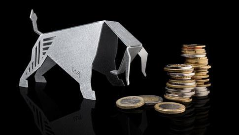 BULL - urban origami. Taurus birthday gift