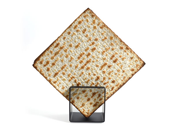 Modern Matzah Cracker holder for Pesach.