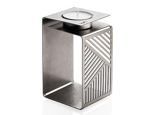 Geometric modern origami candle holder