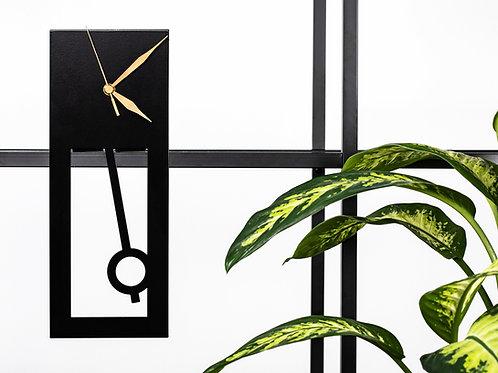 ZMAN - Black Floating Clock