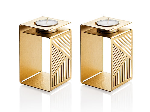 KARL - Pair of Sabbath Modern Candle holders