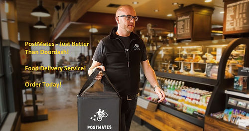 Postmates On-Demand Delivery get your fo
