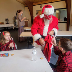 Santa and Candy Canes