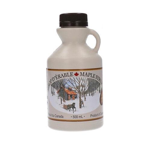 Purer Ahornsirup, Qualitätsgrad A,  Amber, traditioneller Krug, 500ml