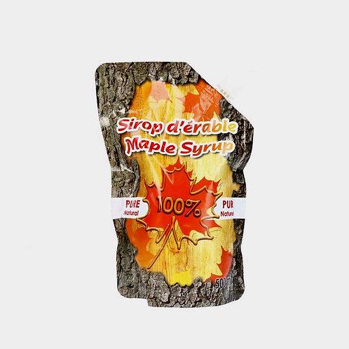 Purer Ahornsirup, Qualitätsgrad A, Amber, abschließbare Tüte, 250ml
