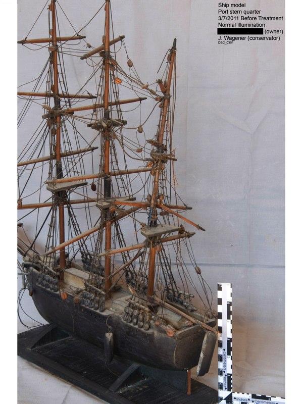 Morgan Ship Model