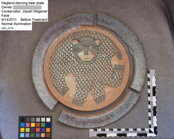 Hegland Stoneware Plate