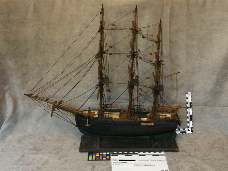 Morgan Ship Model