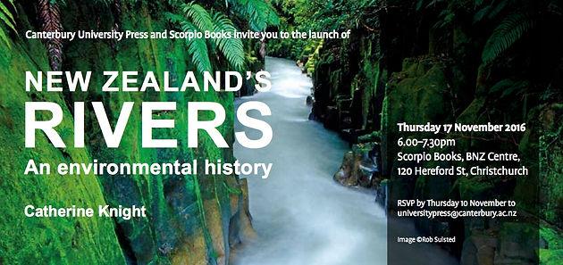 New Zealand's Rivers – envirohistory NZ