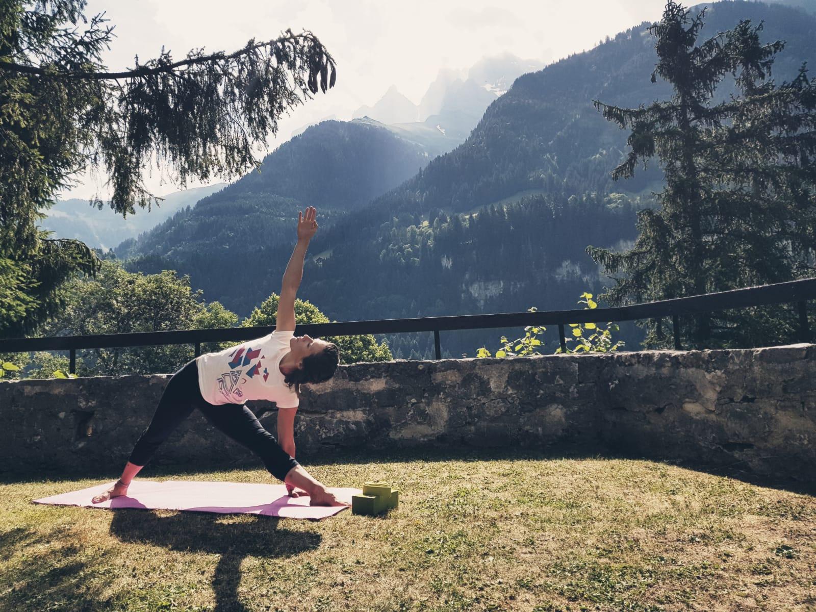 Vinyasa Yoga Champéry 17:45 - 19:00