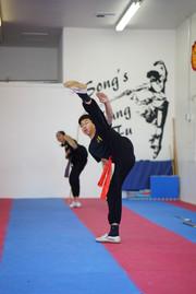Kick high!