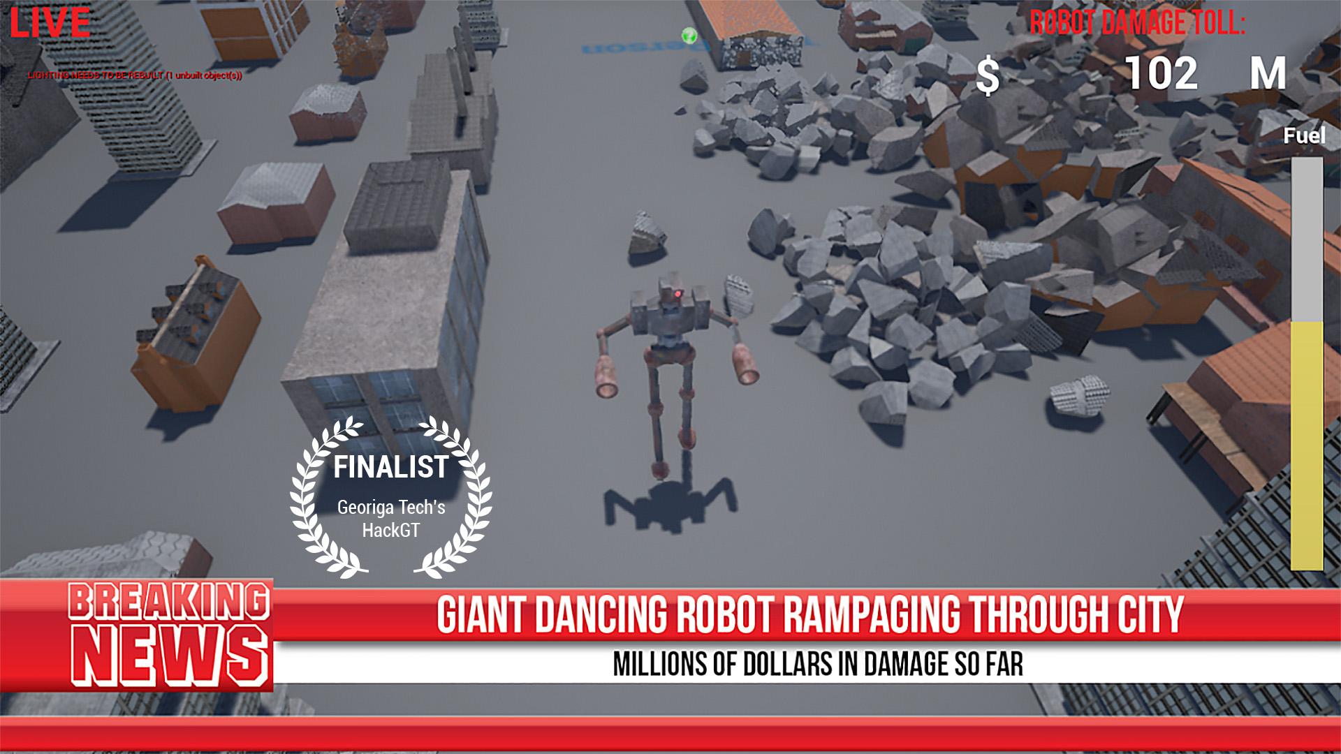 Real Robot Rampage