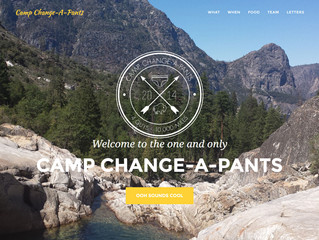 Camp Change-A-Pants Site