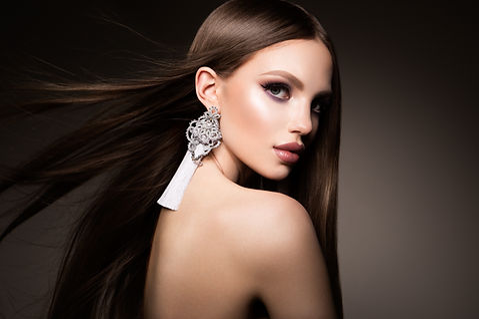 Hair. Beauty Woman with Very Long Health