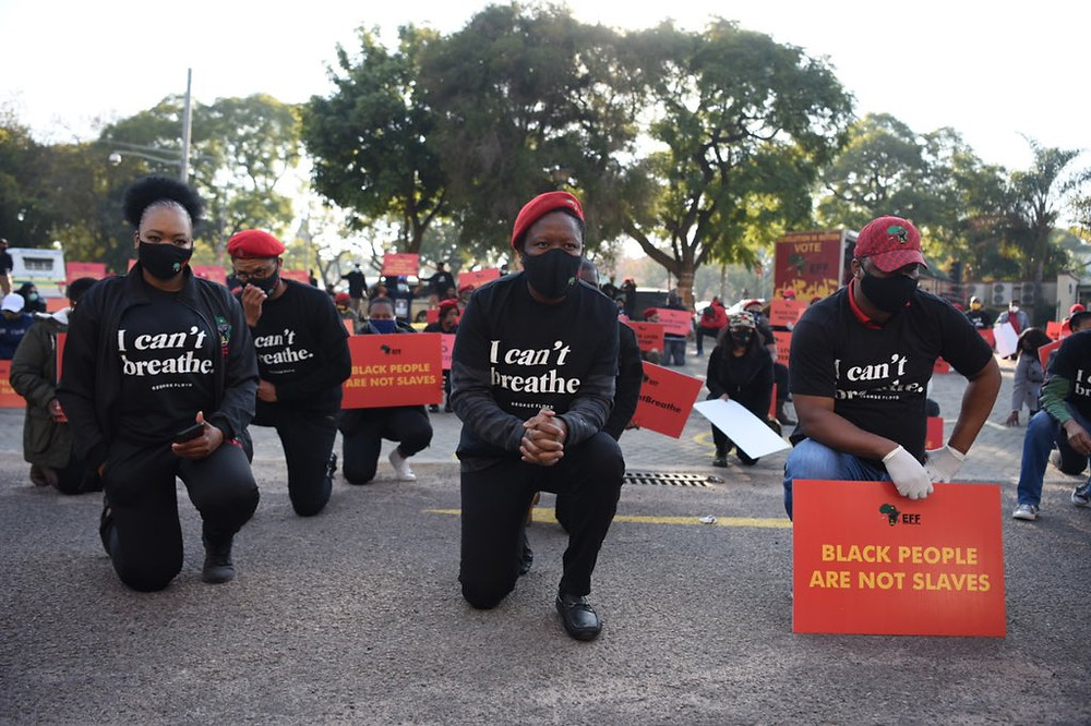 Black Lives Matter Protests in South Africa