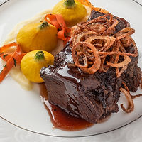 Beef - With Patty Pan Squash - Vertical