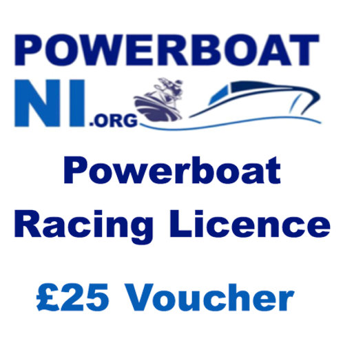 Powerboat Racing Licence £25 Voucher