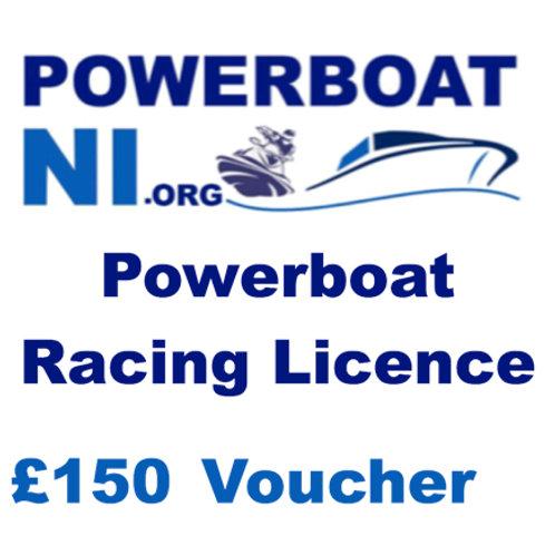 Powerboat Racing Licence £150 voucher