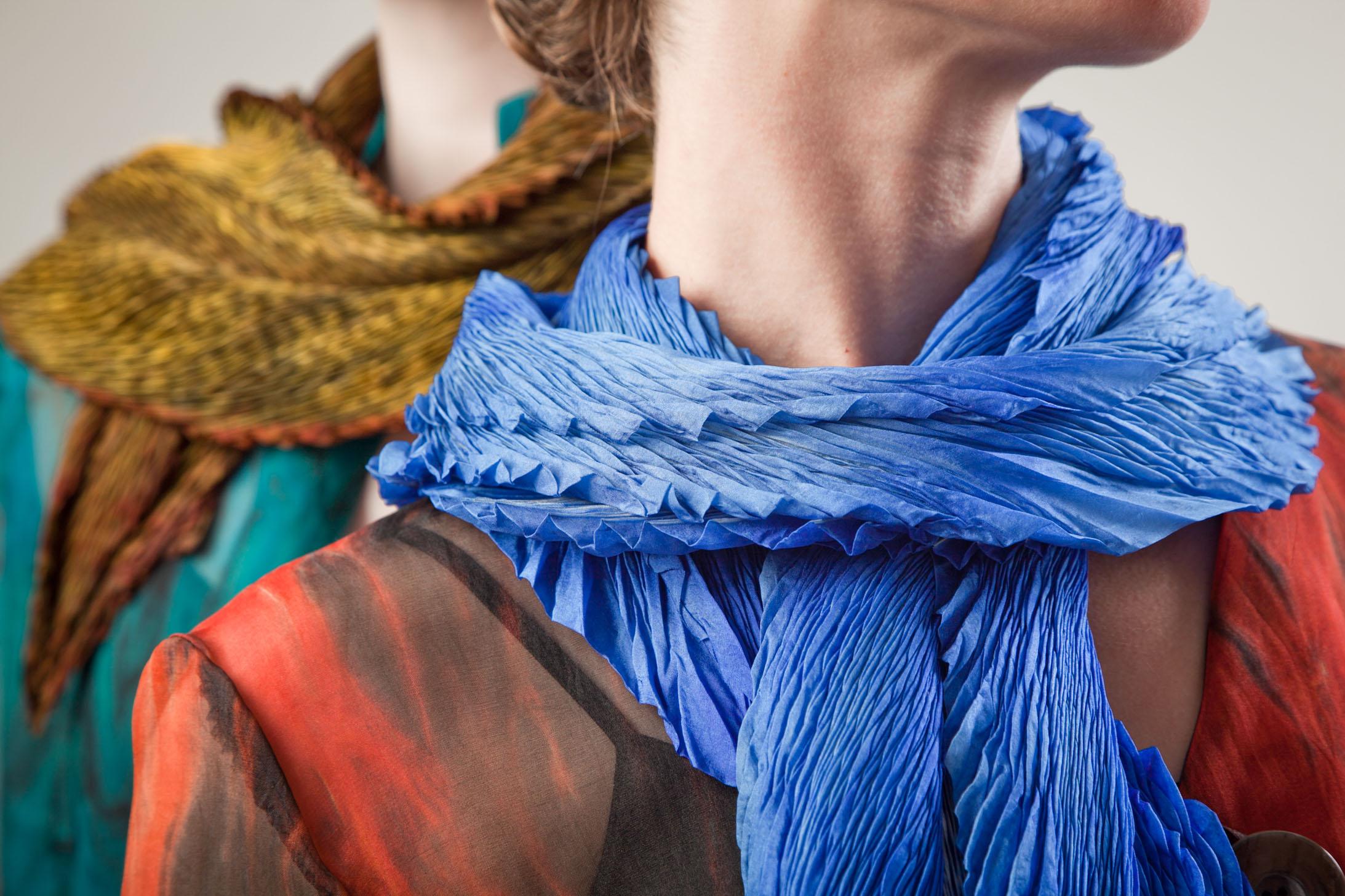 shibori scarves for print