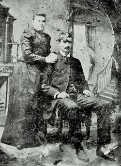 Nathaniel Davis Jackson, Sarah Hand