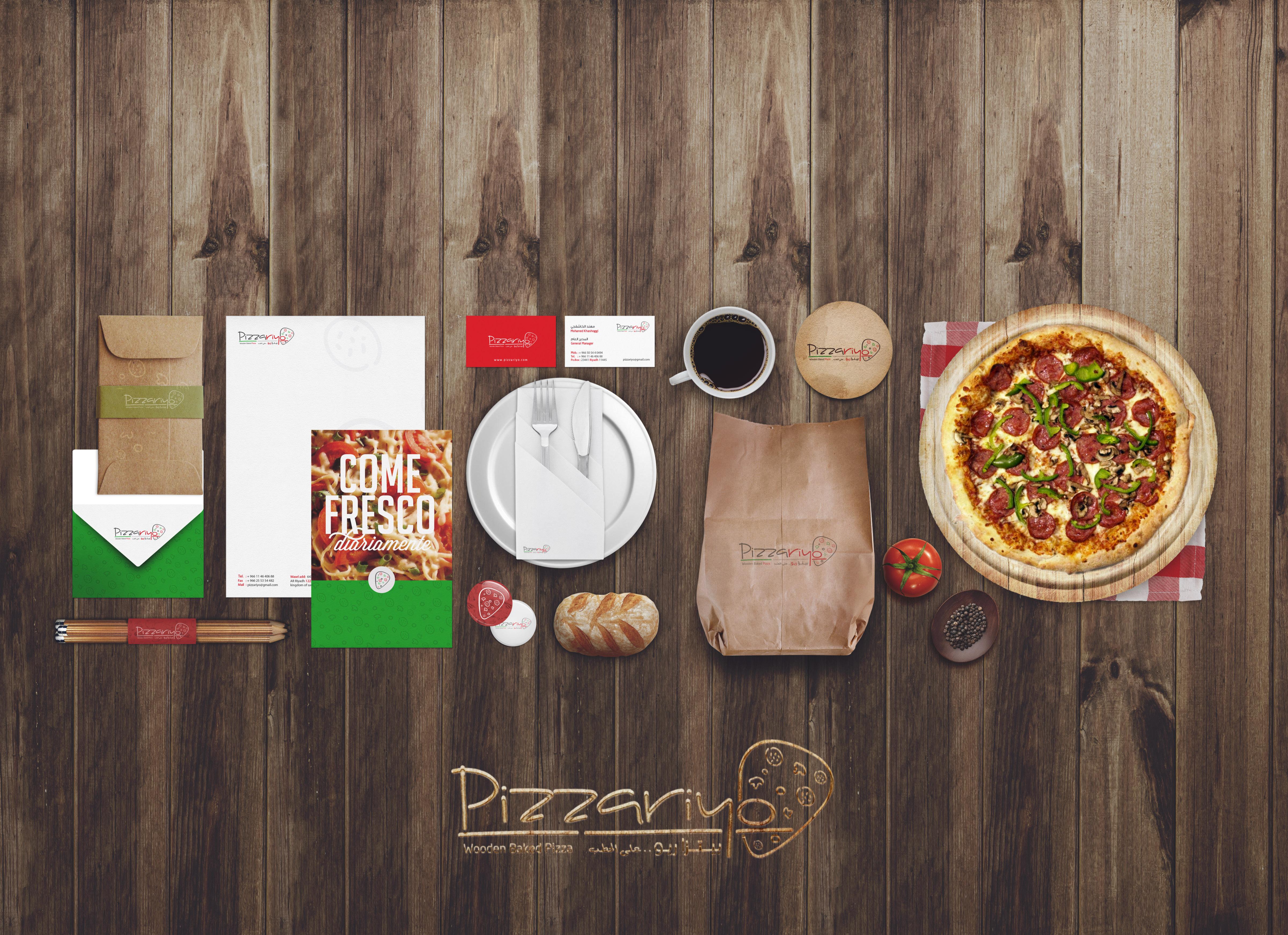Restaurant - Food Mockup