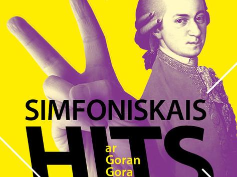 """Koncertcikls jauniešiem """"Simfoniskais hits ar Goran Gora"""""""
