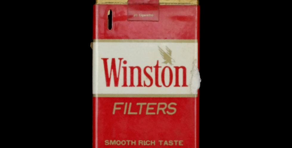 Winston Cigarette Pack Lighter