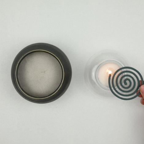 light incense spiral