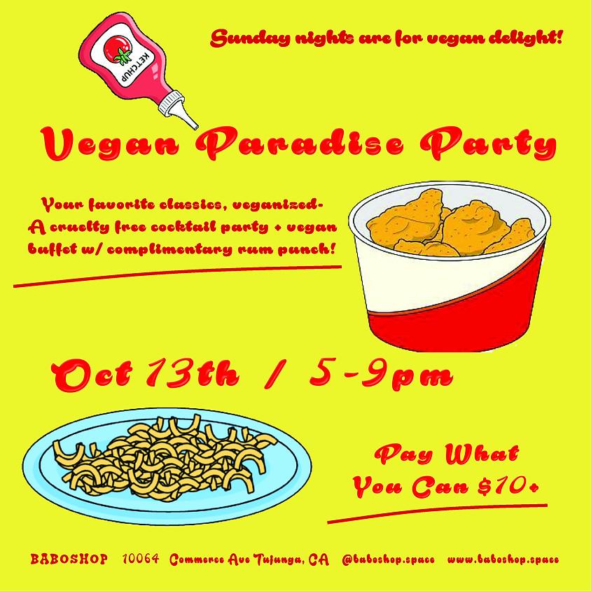 Vegan Paradise Party
