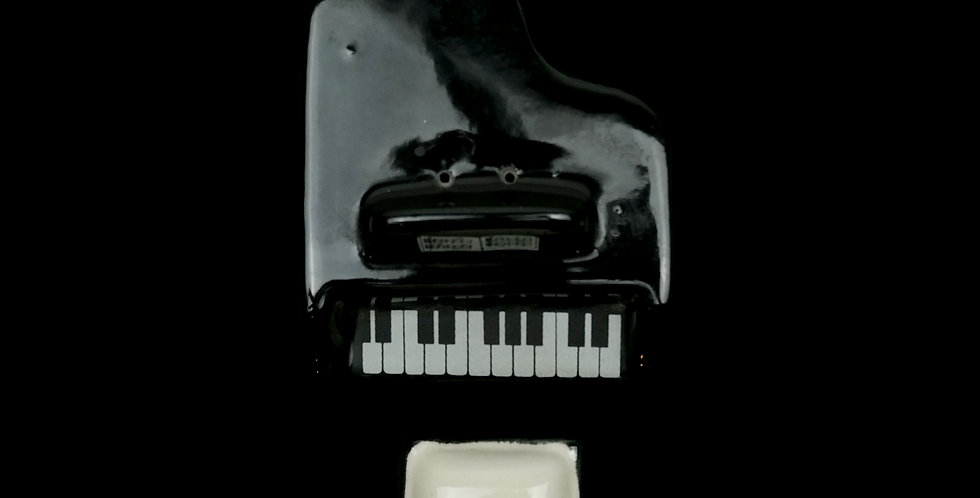 Piano Set Salt/Pepper Shakers