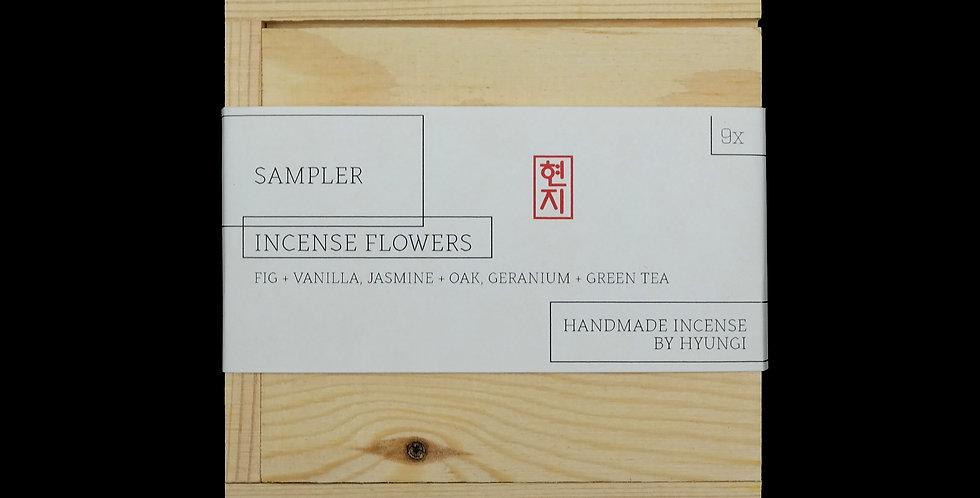 Incense Flowers Sampler