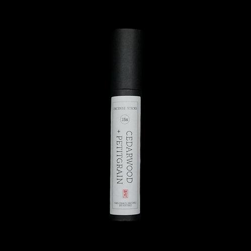Cedarwood + Petitgrain Incense Sticks